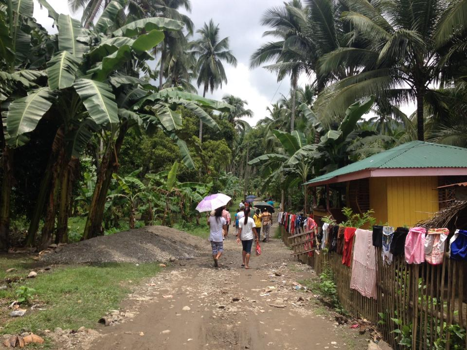 Snapshot of a typical farming community in Marinduque Photo: Rachel Espejo